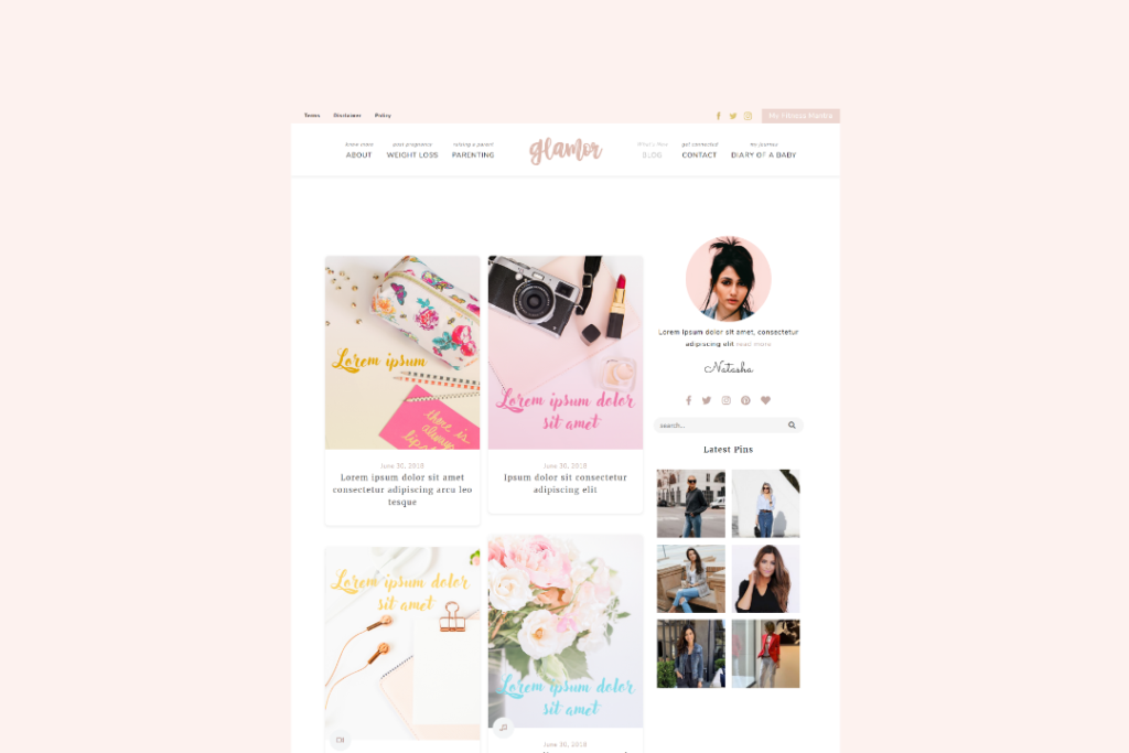 glamor-theme-demo-3