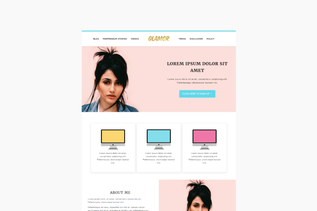 glamor-theme-demo